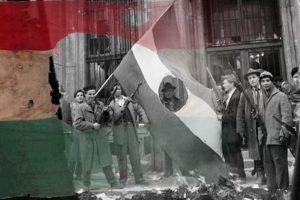 Az 1956-os Forradalom és Szabadságharc tiszteletére rendezett megemlékezés