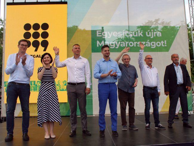 Hencz Kornél MSZP-Párbeszéd képviselőjelöltjének kampánykörútja.